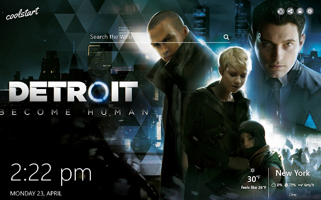 Detroit Become Human HD Wallpapers New Tab