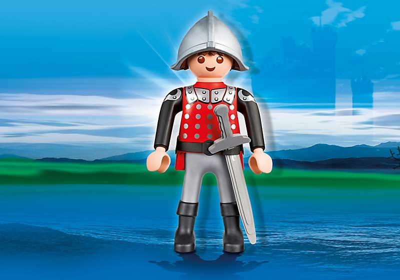 Contenido Real de Playmobil® 4895 Figura Caballero XXL