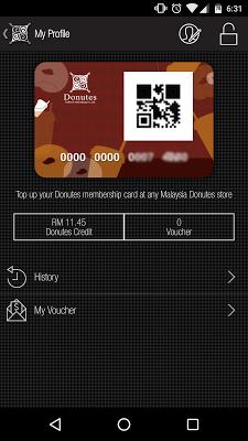 Donutes Malaysia - screenshot
