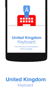 United Kingdom Keyboard - náhled