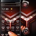 Red Black Neon Dark Theme 💖 icon