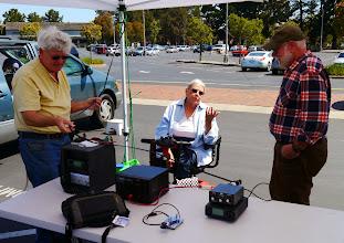 Photo: VHF/UHF station