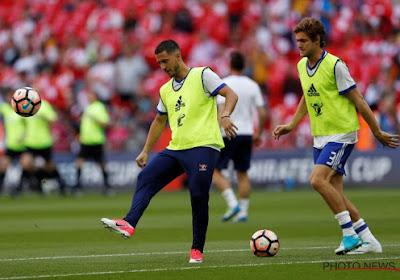 Eden Hazard enfin de retour à l'entraînement collectif !