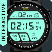 Watch Face Military Digital  Icon