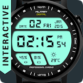 Watch Face Military Digital