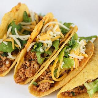 Ground Chicken Tacos.