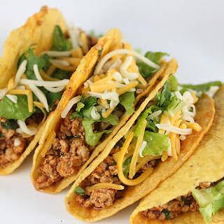 Ground Chicken Tacos.