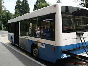Photo: VBL 306 i Obergrundstrasse, Luzern, 04.07.2010.