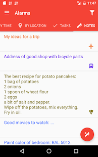 Alarms: Notes & Task List- screenshot thumbnail