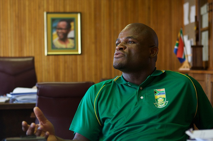 Northern Cape ANC secretary Zamani Saul. Picture: SUNDAY TIMES