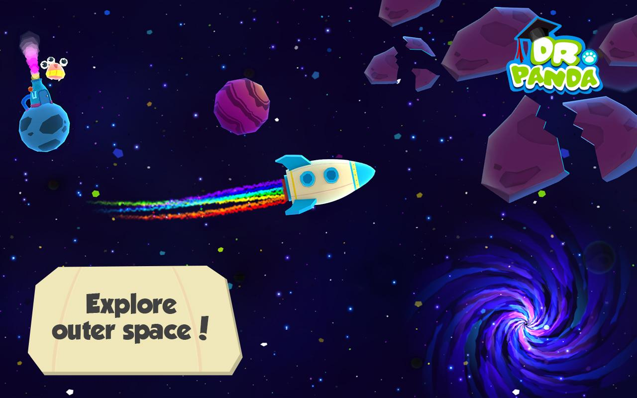 Dr. Panda in Space- screenshot