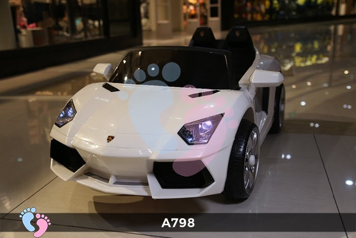 Xe ô tô điện trẻ em Lamborghini A798 8