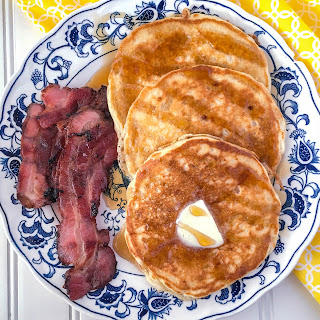Banana Pineapple Pancakes