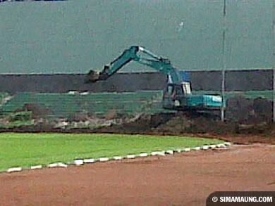 foto persib bandung stadion siliwangi
