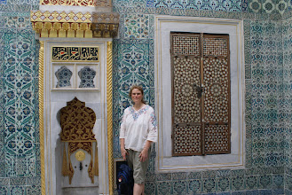 Photo: One of the harem rooms at Toptaki Palace