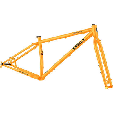 Surly Karate Monkey Frameset - Toxic Tangerine