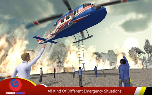 Helicopter Hill Rescue 2016- screenshot thumbnail