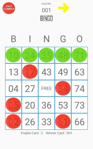Bingo 1.06 screenshots 2