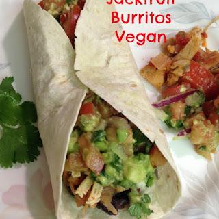 Jackfruit Burritos. Vegan