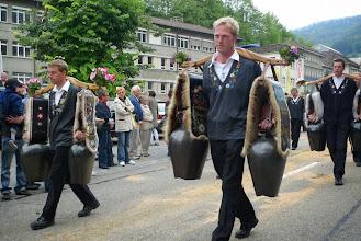 Photo: Treichlergruppe in Aktion