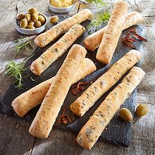 Abbildung Brotstangen Mix Zwiebel Olive