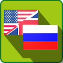 English to Russian dictionary icon
