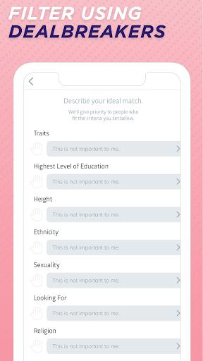 Sweet Pea - Conversations. Dates. Friends. 1.4 screenshots 7