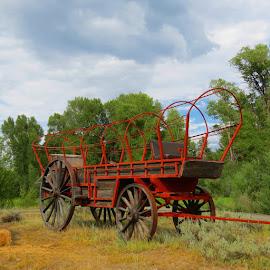 Antique Chuck Wagon by Rita Goebert - Artistic Objects Antiques ( chuck wagon; antiques of the west;,  )