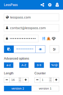 LessPass- screenshot thumbnail