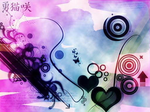 抽象的な壁紙
