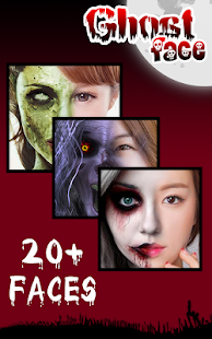 Ghost Face Halloween Makeup - Android Apps on Google Play