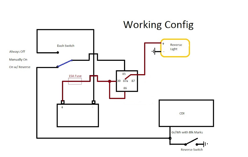 heated grips  heated grips relay diagram