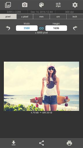 Image Size - Photo Resizer 6.2 screenshots 1