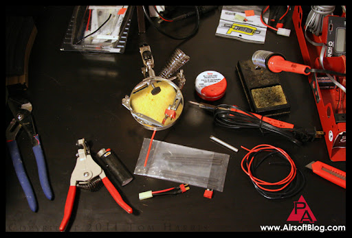 Airsoft Guns, AEG Maintenance, Soldering tips, helping hands soldering tool,rapid fire review videos, pyramyd airsoft youtube channel,Airsoft Guns, Pyramyd Air, Pyramyd Airsoft Blog, Airsoft Obsessed, Airsoft Blog,