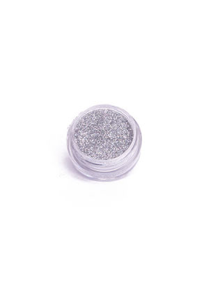 Kroppsglitter, silver 5 ml