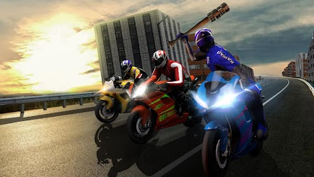 Bike Attack Race : Highway Tricky Stunt Rider APK screenshot thumbnail 8