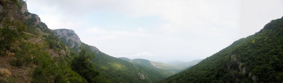 Панорама долини