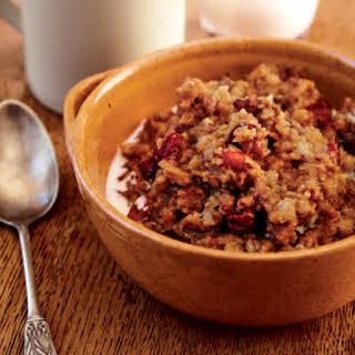 Trail Mix Porridge.