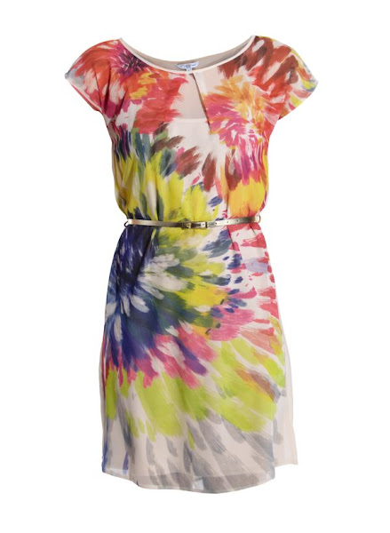 Photo: Floral Water Colour Tunic Dress £27.99 http://bit.ly/KtMU6i