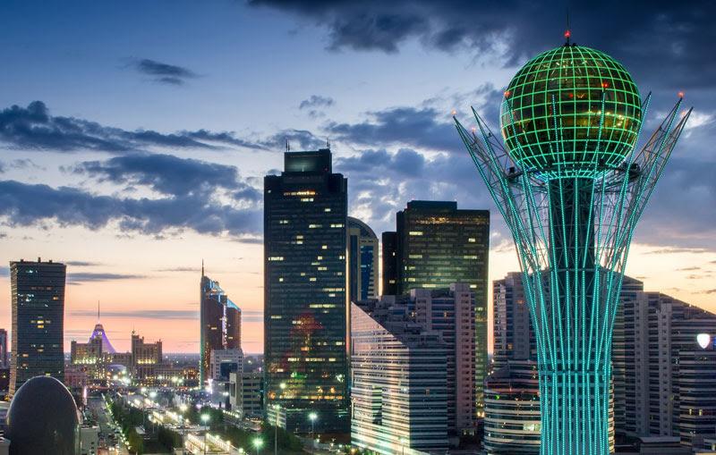 Столица Казахстана Астана