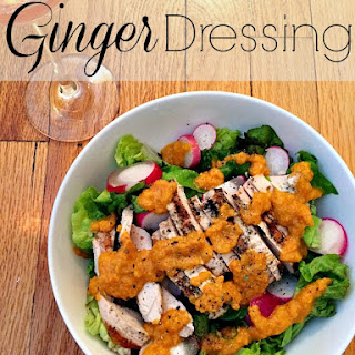 Homemade Ginger Dressing.
