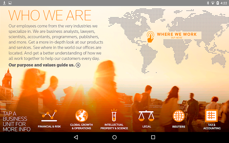 android Thomson Reuters Our Story Screenshot 5
