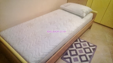 Photo: singolo e cuscino memory sfoderabile e lavabile
