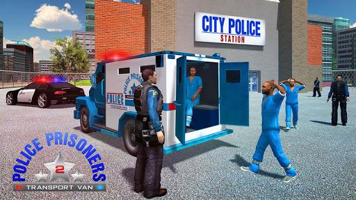 警察囚犯運輸巴士
