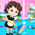 Baby Elis Home Cleaning Games icon