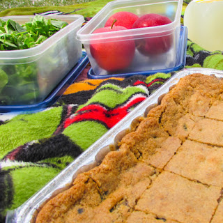 Gluten Free Cookie Bars for a Picnic #SundaySupper