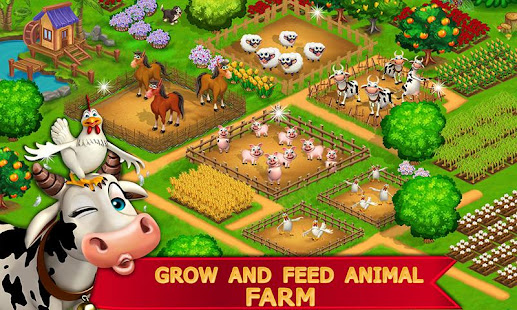 My Farm Town Village Life best Farm Offline Game