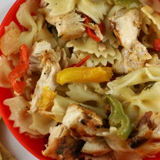 Grilled Chicken Fajita Pasta