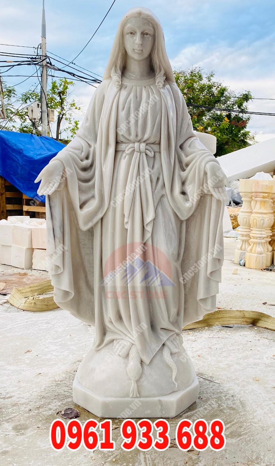 tượng đức mẹ maria đẹp