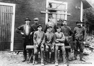 Photo: Berggruvan 1917